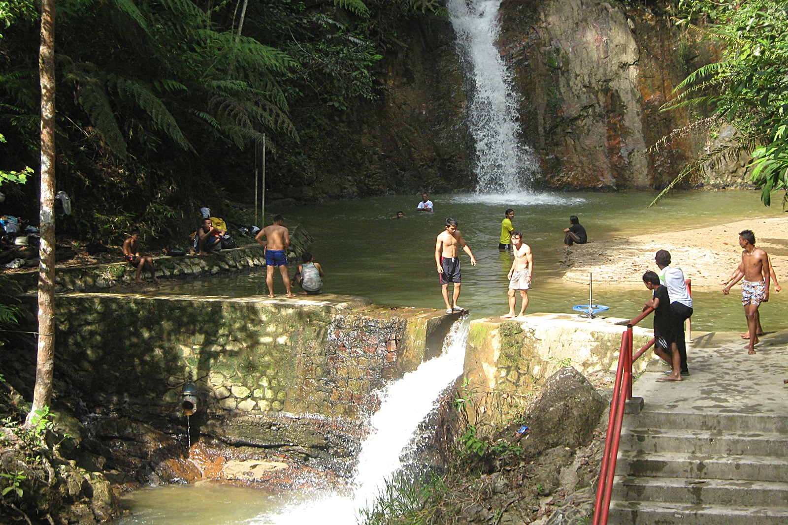 Visit Jeriau Waterfall