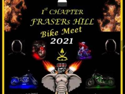 FRASER HILL BIKE MEET : FEBRUARY 27-28, 2021