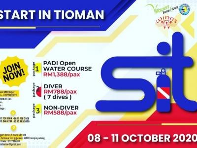 START IN TIOMAN: OCTOBER 08-11, 2020